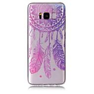 Taske til samsung galaxy s8 plus s8 telefon taske tpu materiale vind klokke mønster malet telefon sag s7 kant s7 s6 kant s6