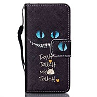 Case voor Apple iPod Touch 5 Touch 6 Case Cover Kaarthouder Portemonnee Met Stand Flip Pattern Full Body Case Kat Hard Pu Leather