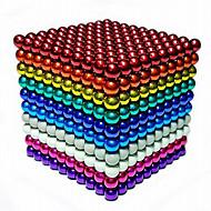 Mágneses játékok 216 Darabok 5 MM Mágneses játékok Építőkockák mágneses Balls Executive Toys Puzzle Cube Ajándék