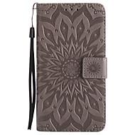voor case cover kaarthouder portemonnee met tribune flip patroon full body hoesje mandala hard pu leer voor samsung j7 prime j7 (2016) j7