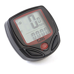 Polkupyörän digitaalinen LCD näyttöinen nopeusmittari