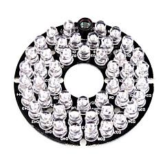 infrapuna 48-LED-valaisin aluksella levy 3.6mm linssi CCTV turvallisuus kamera