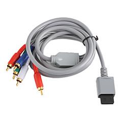 Pokrycie dźwięku miedź składnik i wideo av kabel do wii - szary (2.0m)