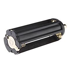 18650 batterij Plastic buis + 3xAAA Batterij Case voor zaklamp
