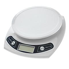 "1.7 ""LCD digitális konyhai mérleg (7kg Max/1g felbontás)"
