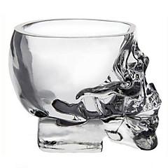 kryształowe czaszki głowy mini kubek wódki strzał whisky szkła Naczynia dla barów napój domu