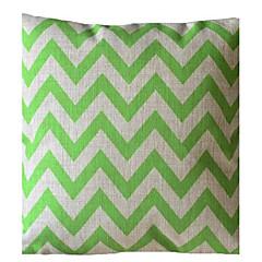Ever Green Wave Stripe Poduszka dekoracyjna z wkładem
