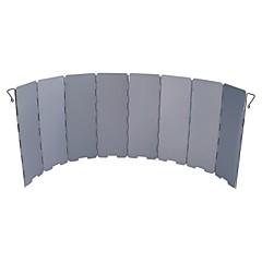 Tűzhely szélvédő Egyszemélyes Összecsukható Alumínium mert