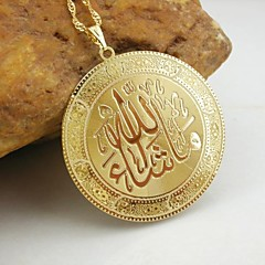 18k aranyozott Allah muzulmán medál