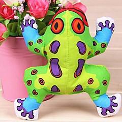 Zabawka dla psa Zabawki dla zwierząt Zabawki do żucia Zabawki piszczące Pisk Żaba Tekstylny