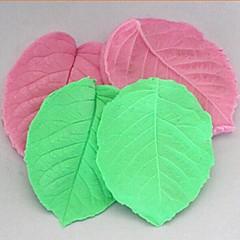 3d blad vastklemmen fondant taart siliconen mal taart decoratie gereedschappen, l8cm * w6.5cm * h1cm