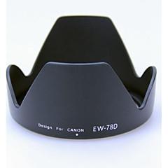 Canon 18-200 / 28-200mm len için 72mm len kaput
