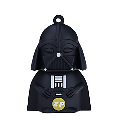 ZP Darth Vader χαρακτήρα 32gb usb κίνησης μανδρών λάμψης