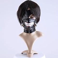 Μάσκα Εμπνευσμένη από Τόκιο λάμια Cosplay Anime Αξεσουάρ για Στολές Ηρώων Μάσκα Μαύρο Σιφόν Ανδρικά / Γυναικεία