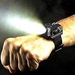 LED-Zaklampen Handzaklampen LED Lumens 5 Modus Cree XP-G2 R5 Oplaadbaar Waterbestendig Multifunctioneel