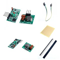 Moduł 433m superregeneration nadajnik bezprzewodowy (alarm) i moduł odbiornika akcesoria dla Arduino