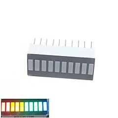 10 segment digital førte bar display