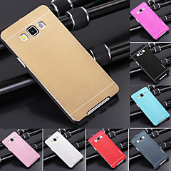 df luxus minőségű egyszínű csiszolt alumínium kemény tok Samsung Galaxy a7