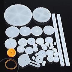 34 soorten plastic reductiemotor versnelling robot onderdelen diy model kit