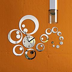 현대/현대 가족 벽 시계,라운드 기타 16.5*16.5*0.2 실내 시계