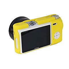 삼성 nx500에 대한 dengpin 부드러운 실리콘 갑옷 피부 고무 카메라 커버 케이스 가방 (모듬 색상)