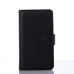 læder smudsafvisende flip wallet cover Taske til Sony Xperia e4 / e4g / m4 / C4 / e3 / T3 / m2 capa telefon case