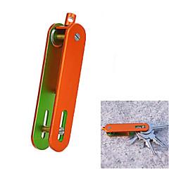açık taşınabilir alüminyum alaşım tuşları organizatörü tutucu - (siyah / turuncu / gri / yeşil)