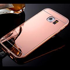 Voor Samsung Galaxy hoesje Hoesje cover Beplating Spiegel Achterkantje hoesje Effen kleur Hard PC voor SamsungS8 S8 Plus S7 edge S7 S6