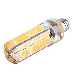 Ywxlight® e11 dimmable 8w 80 smd 5730 700-800lm branco quente / branco bi-pin luz ac 110-130 v