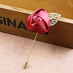 Męskie Damskie Broszki Modny biżuteria kostiumowa Materiał Stop Flower Shape Rose Biżuteria Na Ślub Impreza Specjalne okazje Urodziny