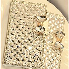 luxe bling kristal diamant lederen flip tas hoes voor Samsung Galaxy J1 / J5 / J7 / kern prime / grand prime