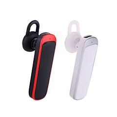 trådløst bluetooth v3.0 headset ørekrog stil mono øretelefon med mikrofon til iPhone Samsung mobiltelefon