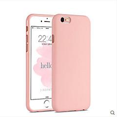 For iPhone 6 etui iPhone 6 Plus etui Stødsikker Etui Bagcover Etui Helfarve Blødt Silikone for Apple iPhone 6s Plus/6 Plus iPhone 6s/6