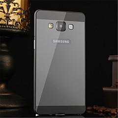 fém keret akril tükör hátlap fém kemény tok Samsung Galaxy a5