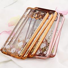 Varten Samsung Galaxy Note Pinnoitus / Läpinäkyvä Etui Takakuori Etui Kukka TPU Samsung Note 5 / Note 4 / Note 3
