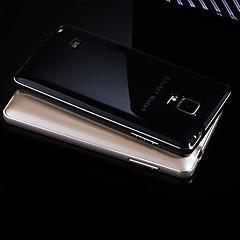Varten Samsung Galaxy Note Pinnoitus Etui Takakuori Etui Yksivärinen Metalli Samsung Note 5 / Note 4 / Note 3