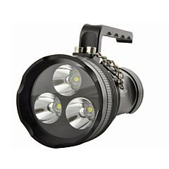 Lantaarns en tentlampen LED 10800 Lumens 4.0 Modus Cree XM-L2 T6 Waterbestendig voor Multifunctioneel
