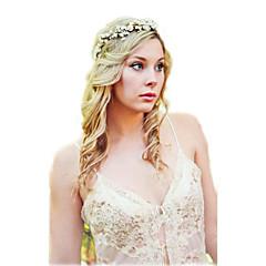 Opaski na głowę / Fascinators / Biżuteria na czoło-Ślub / Impreza / Codzienny / Casual / N/A(Materiał / Papierowy)