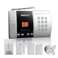 68 bölge + akıllı kapı zili fonksiyonu ile kablosuz ev alarm paneli