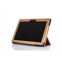 para Lenovo tab2 caso a10-30 disponíveis de alta qualidade capa de couro Flip 3 dobrar fino para guia 2 x30f a10-30 tablet