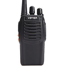 Fabriek-OEM VBT-V3 Walkie-talkie ≤5W 16 400-470MHz 1500MAh 3km-5kmNoodgevallen Alarm / Spraakverzoek / VOX / Waarschuwing laag