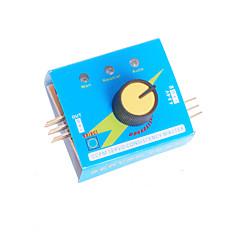 Multi tester servo ECS 3CH miernik prędkości spójność kanały zasilające kontroler CCPM
