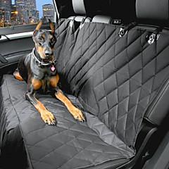 كلب Bilsete Dekke حيوانات أليفة حاملات مقاوم للماء / المحمول أسود قطن