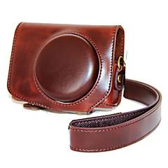 캐논 파워 샷 G7의 X 표시에 대한 dengpin® PU 가죽 카메라 케이스 가방 커버 II g7x2 (모듬 색상)