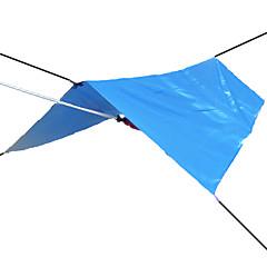 3-4 kişi Sığınak ve Branda Çadır Kapanları Kamp çadırı Su Geçirmez Ultravioleye Karşı Dayanıklı Yağmur-Geçirmez Gümüş Kaplama Güneş