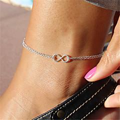 Pentru femei Brățară Gleznă/Brățări Aliaj Design Unic La modă costum de bijuterii Bijuterii Infinit Bijuterii Pentru Petrecere Zilnic