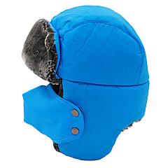 귀덮개 모자 / 털/모피 모자 스키 모자 여성의 / 남성의 보온 / 방풍 스노우보드 폴리에스터 옐로우 / 레드 / 블랙 / 블루 / 라이트 카키 스키 / 캠핑 & 하이킹 / 스노우스포츠 / 다운힐 겨울 스포츠