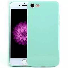 Käyttötarkoitus iPhone X iPhone 8 iPhone 7 iPhone 7 Plus iPhone 6 kotelot kuoret Other Takakuori Etui Yhtenäinen väri Pehmeä TPU varten