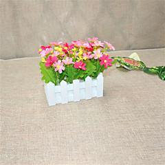 Set of 1 PCS 1 Κλαδί Πολυεστέρας Μαργαρίτες Λουλούδι για Τραπέζι Ψεύτικα λουλούδια 2.7