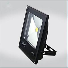 50W hideg / meleg fehér szín fekete ultravékony IP65 kültéri LED reflektor led izzó (ac85-265v)